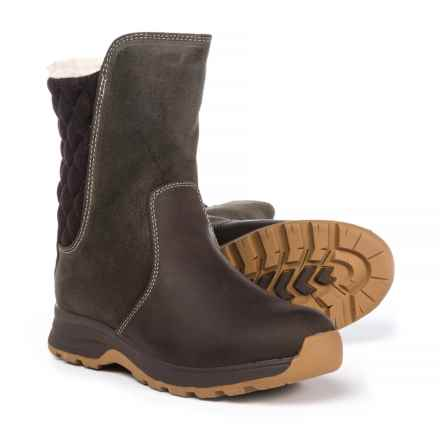Woolrich Palmerton Trail Boots - Waterproof, Suede and Wool (For Women) in Java - Closeouts