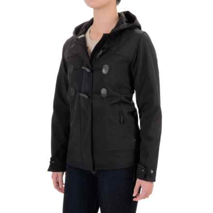 Woolrich Passage Soft Shell Jacket (For Women) in Black - Closeouts