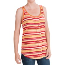 Woolrich Passing Trails Tank Top (For Women) in Beet Stripe - Closeouts