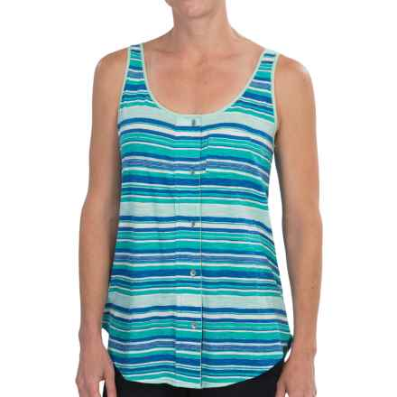 Woolrich Passing Trails Tank Top (For Women) in Summer Sky Stripe - Closeouts