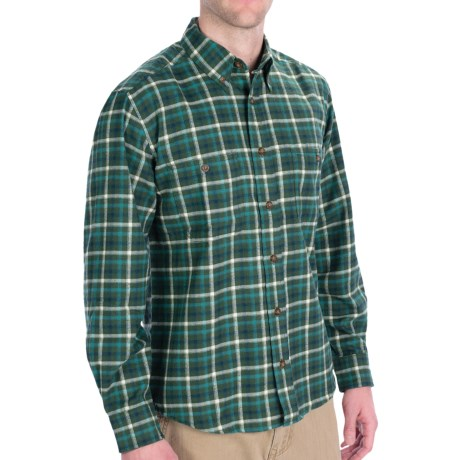 Woolrich Pathblazer Shirt - UPF 40+, Long Sleeve (For Men) in Everglade