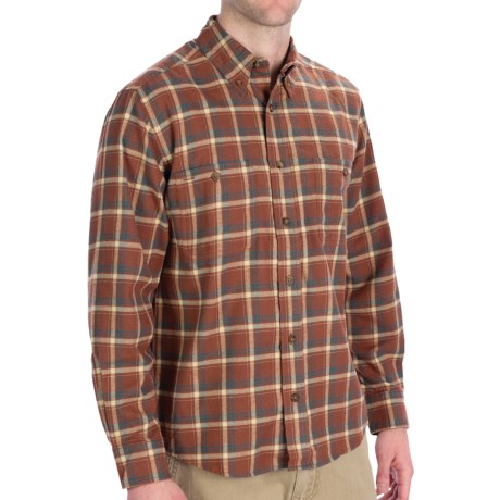 Woolrich Pathblazer Shirt - UPF 40+, Long Sleeve (For Men) in Woodchip