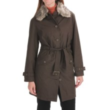 Woolrich Pathridge Coat (For Women) in Brown - Closeouts
