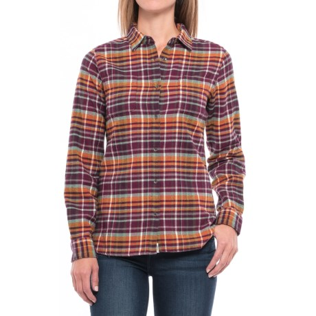 Woolrich Pemberton Flannel Shirt - Long Sleeve (For Women)