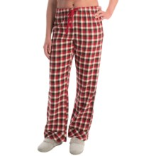 Woolrich Pemberton Pajama Bottoms - Flannel (For Women) in Boulder Buffalo Check - Closeouts