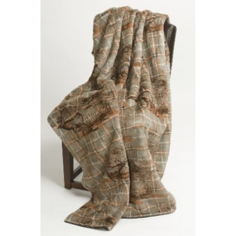 "Woolrich Pennland Throw Blanket - 50x68"" in Elk Tartan"
