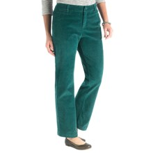 Woolrich Penns Wood Corduroy Pants (For Women) in Pacific Teal - Closeouts