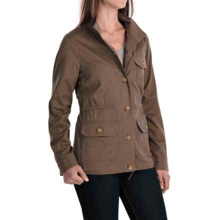 Woolrich Perfect Way Jacket (For Women) in Faded Teak - Closeouts