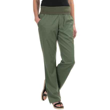 Woolrich Perfect Way TENCEL® Pants (For Women) in Eucalyptus - Closeouts