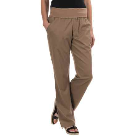 Woolrich Perfect Way TENCEL® Pants (For Women) in Faded Teak - Closeouts