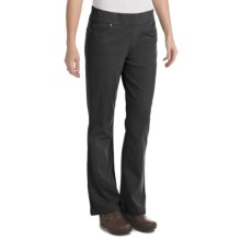 Woolrich Pine Island Pants - Stretch Twill Knit (For Women) in Black - Closeouts
