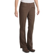 Woolrich Pine Island Pants - Stretch Twill Knit (For Women) in Dark Roast - Closeouts