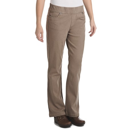 Woolrich Pine Island Pants - Stretch Twill Knit (For Women) in Shale