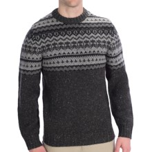 Woolrich Pine Ridge Crew Neck Sweater - Wool, Long Sleeve (For Men) in Onyx - Closeouts