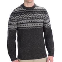 Woolrich Pine Ridge Crew Neck Sweater - Wool, Long Sleeve (For Men) in Onyx - Closeouts