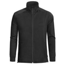 Woolrich Pinyon Jacket - Fleece, Raglan Sleeve (For Men) in Black - Closeouts