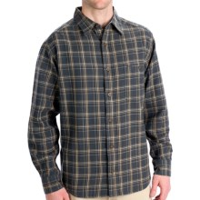 Woolrich Pioneer Flannel Shirt - Long Sleeve (For Men) in Bluestone - Closeouts