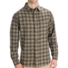 Woolrich Pioneer Flannel Shirt - Long Sleeve (For Men) in Shale - Closeouts