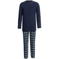 Woolrich Plaid Flannel Pajamas - Long Sleeve (For Men) in Deep Ruby Plaid