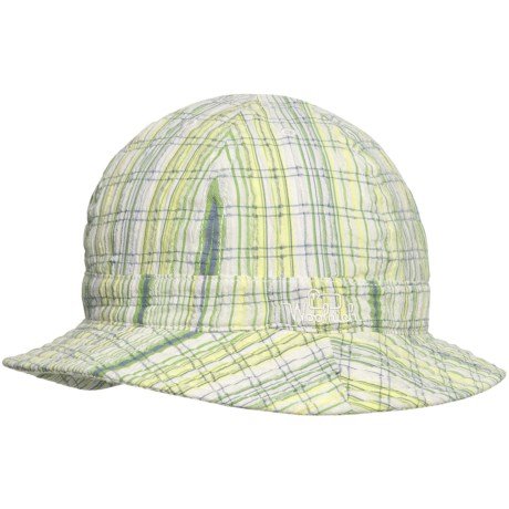 Woolrich Plaid Tennis Bucket Hat (For Women) in White