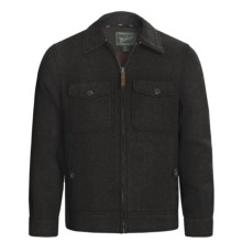 Woolrich Plateau Jacket (For Men) in Charcoal Heather - Closeouts