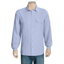 Woolrich Pleasant Spring Shirt - UPF 30+, Long Roll-Up Sleeve (For Men) in Light Heather - Closeouts