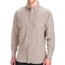 Woolrich Pleasant Springs Shirt - UPF 30+, Long Sleeve (For Men) in British Tan - Closeouts