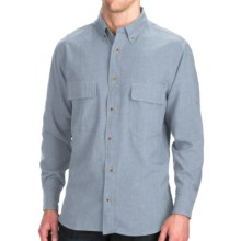 Woolrich Pleasant Springs Shirt - UPF 30+, Long Sleeve (For Men) in Nile Blue - Closeouts