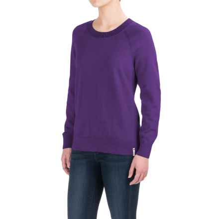 Woolrich Plum Run Crew Sweater (For Women) in Amethyst - Closeouts