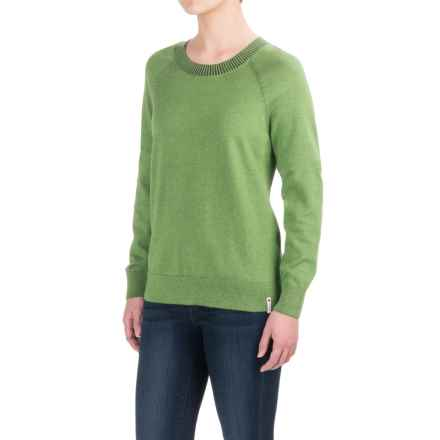 Woolrich Plum Run Crew Sweater (For Women) in Cvr Clover - Closeouts
