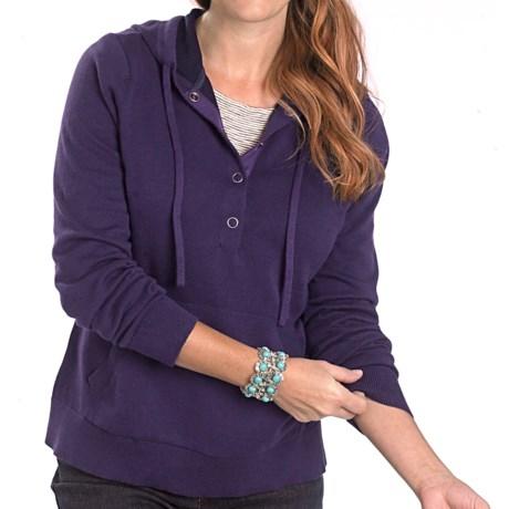 Woolrich Plum Run Hooded Sweatshirt (For Women) in Amethyst