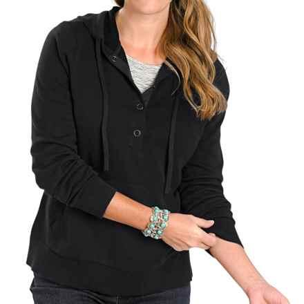 Woolrich Plum Run Hooded Sweatshirt (For Women) in Black - Closeouts