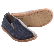 Woolrich Plumtree Slippers - Italian Boiled Wool (For Women) in Denim - Closeouts