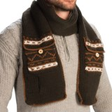 Woolrich Pocket Scarf (For Men)