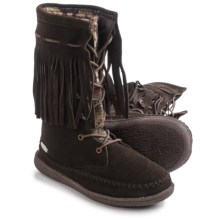 Woolrich Pocono Creek Boots - Suede (For Women) in Java/Blanket - Closeouts