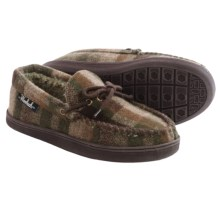 Woolrich Potter County Wool Slippers (For Men) in Camo Wool - Closeouts