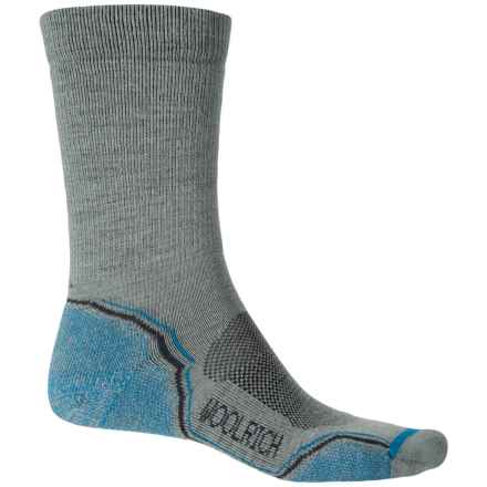 Woolrich Premium Hiking Socks - Merino Wool, Crew (For Women) in Slate Grey - Closeouts