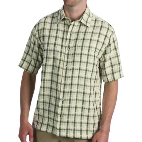 Woolrich Prevailing Shirt - UPF 30+, Short Sleeve (For Men) in Bayleaf