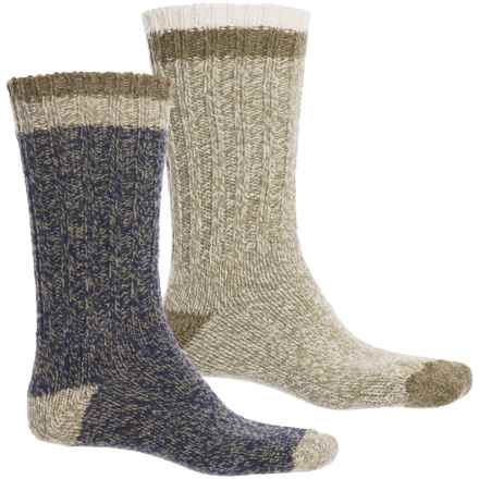 Woolrich Ragg Socks - 2-Pack, Merino Wool, Crew (For Men) in Nc & Ce - Closeouts