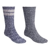 Woolrich Ragg Socks - 2-Pack, Midweight, Crew (For Men)