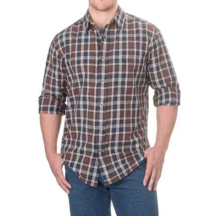 Woolrich Red Creek Cotton Shirt - Long Sleeve (For Men) in Deep Indigo - Closeouts