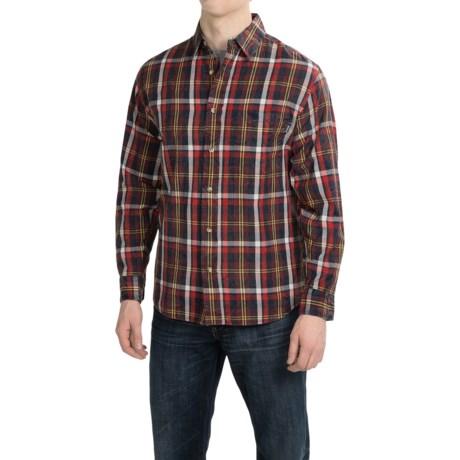 Woolrich Red Creek Cotton Shirt Long Sleeve (For Men)