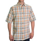 Woolrich Red Creek Plaid Shirt - Short Sleeve (For Men)