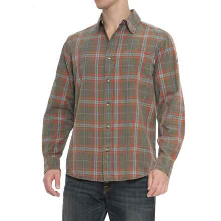 Woolrich Red Creek Shirt - Cotton, Long Sleeve (For Men) in Bungee Cord - Closeouts