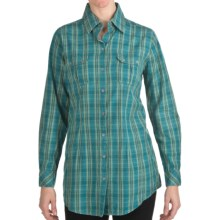 Woolrich Red Creek Tunic Shirt - Long Sleeve (For Women) in Atlantic - Closeouts