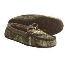 Woolrich Redwood Moccasin Slippers (For Men) in Camo - Closeouts