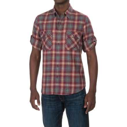 Woolrich Regional Flannel Shirt - Long Sleeve (For Men) in Mallard - Closeouts