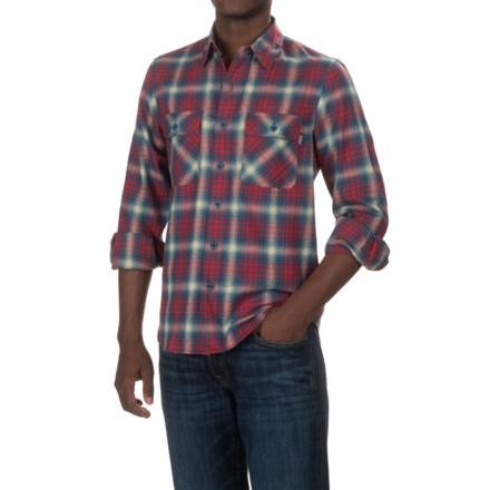 1b01fe9896 Woolrich Regional Flannel Shirt - Long Sleeve (For Men) in Nordic Blue -  Closeouts