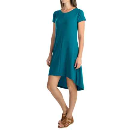 Woolrich Rendezvous Dress - Scoop Neck, Short Sleeve (For Women) in Seaport - Closeouts