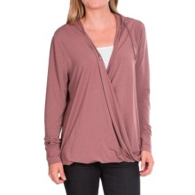 Woolrich Rendezvous Hoodie - UPF 50 (For Women) in Mulberry - Closeouts